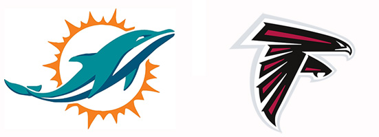 Image result for Miami Dolphins vs. Atlanta Falcons